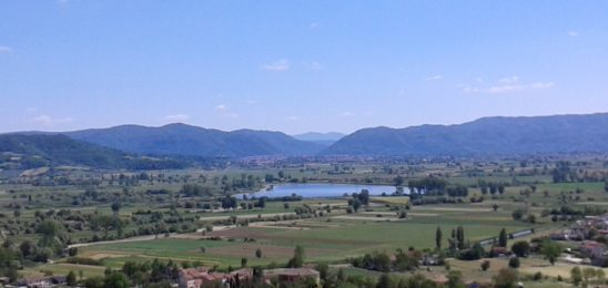 Panorama della Valle reatina