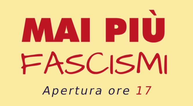 «Mai più fascismi» Cgil, Cisl e Uil contro il virus della xenofobia