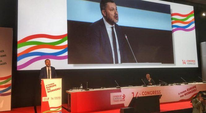 Luca Visentini confermato alla guida della Ces