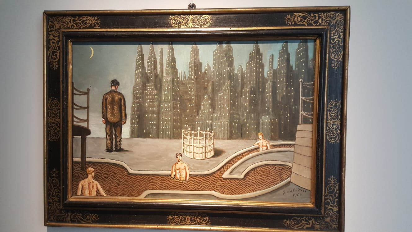 Donghi, De Chirico, Balla. Il futurismo a Palazzo Merulana