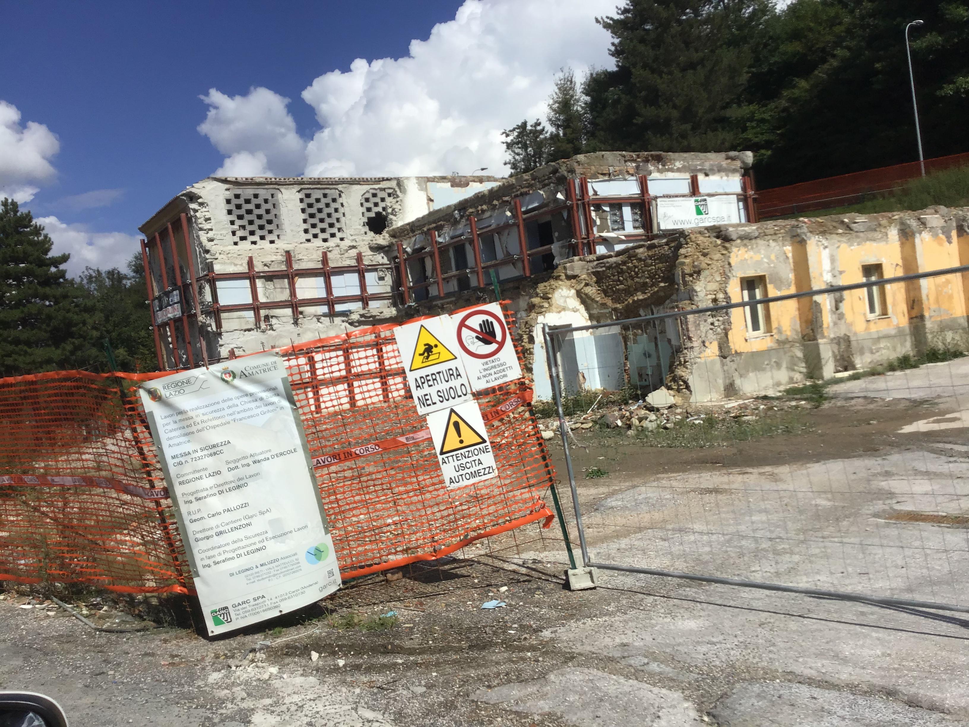 Terremoto Centro Italia: ricostruzione ferma al palo
