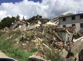Il cratere reatino a tre anni dal sisma del Centro Italia