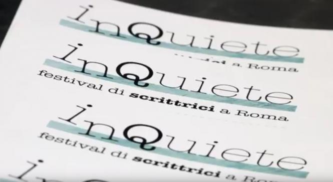 Torna a Roma scrittici InQuiete contro i pregiudizi