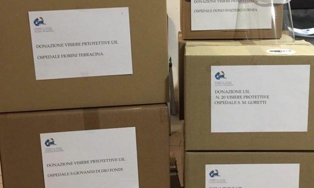 La solidarietà della Uil ai tempi del Coronavirus
