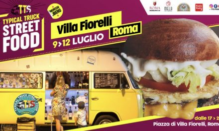 Dal 9 al 12 Luglio Typical Truck Street Food riparte da Villa Fiorelli