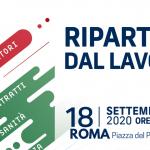 «Ripartire dal Lavoro». Mobilitazione dei sindacati in Piazza del Popolo