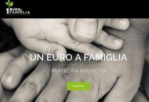 Un euro a famiglia