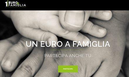 Un euro a famiglia. Donare per aiutare