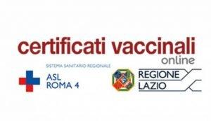 certificato vaccinale
